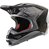 Alpinestars 2020 Supertech M-10 Helmet Silver/Black/Carbon/Gold