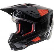 Alpinestars SM5 Rover Helmet Anthracite/Fluorescent Red/Gray Camo