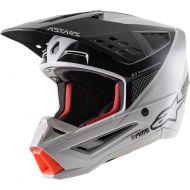 Alpinestars SM5 Rayon Helmet Matte Grey/Black/Silver