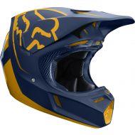 Fox Racing 2019 V3 Helmet Kila Navy/Yellow