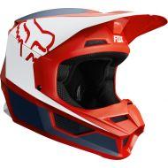 Fox Racing 2019 V1 Helmet PRZM Navy/Red