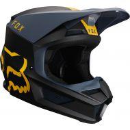 Fox Racing 2019 V1 Helmet Mata Navy/Yellow