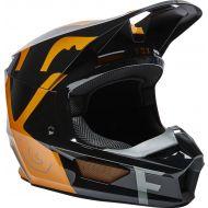 Fox Racing V1 Skew Helmet Black/Gold