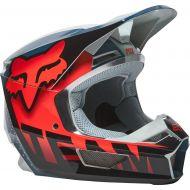 Fox Racing V1 Trice Helmet Gray/Orange