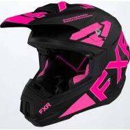 FXR 2022 Torque Team Helmet Black/Pink