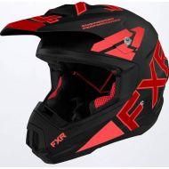 FXR 2022 Torque Team Helmet Black/Red