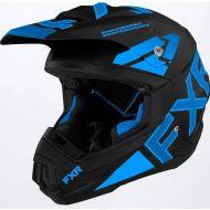 FXR 2022 Torque Team Helmet Black/Blue