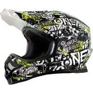 O'Neal 2019 3 Series Helmet Attack Black/Hi-Viz