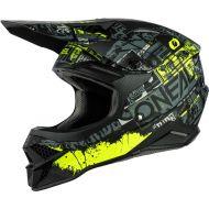 O'Neal 2021 3 Series Ride Helmet Black/Neon