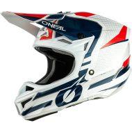O'Neal 2021 5 Series Sleek Helmet White/Red/Blue
