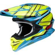 Shoei VFX-EVO Glaive Helmet Blue