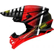 Shoei VFX-EVO Blazon Helmet Red