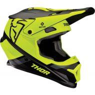Thor 2020 Sector Split Helmet Black/Acid