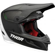 Thor 2021 Reflex Carbon Polar Helmet Black/White