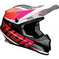 Thor 2021 Sector Fader Helmet Orange/Magenta