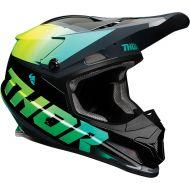 Thor 2021 Sector Fader Helmet Acid/Teal
