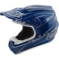 Troy Lee Designs SE4 Polyacrylite Pinstripe Helmet Blue