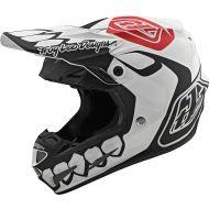 Troy Lee Designs SE4 Composite Helmet Limited Edition Skully Black/White