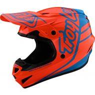 Troy Lee Designs GP Helmet Silhouette Orange/Cyan