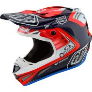 Troy Lee Designs SE4 Carbon Helmet Flash Team Blue/Red