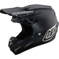 Troy Lee Designs SE4 Carbon Helmet Midnight Black/Chrome