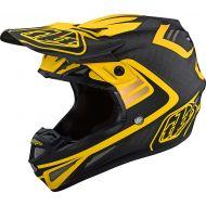 Troy Lee Designs SE4 Carbon Helmet Flash Black/Yellow