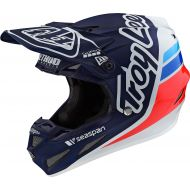 Troy Lee Designs SE4 Composite Helmet Silhouette Team Navy/White