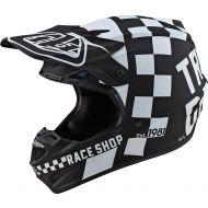 Troy Lee Designs SE4 Polyacrylite Helmet Checker Black/White