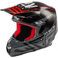 Fly Racing 2020 F2 MIPS Helmet Granite Red/Black/White