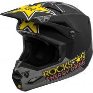 Fly Racing 2020 Kinetic Rockstar Helmet Matte Grey/Black/Yellow