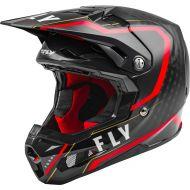 Fly Racing 2021 Formula Carbon Helmet Axon Black/Red/Gold