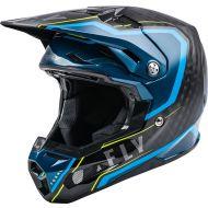 Fly Racing 2021 Formula Carbon Helmet Axon Black/Blue/Hi-Vis