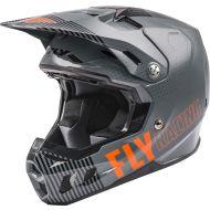 Fly Racing 2021 Formula Helmet Primary Matte Grey/Orange