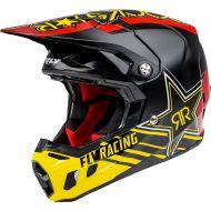 Fly Racing 2021 Formula CC Helmet Rockstar Black/Red/Yellow