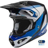 Fly Racing 2022 Formula Carbon Helmet Prime Blue/White/Blue Carbon