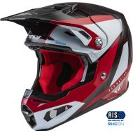 Fly Racing 2022 Formula Carbon Helmet Prime Red/White/Red Carbon