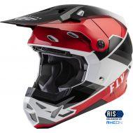 Fly Racing 2022 Formula CP Rush Helmet Black/Red/White