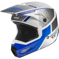 Fly Racing 2022 Kinetic Drift Helmet Blue/Charcoal/White
