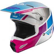 Fly Racing 2022 Kinetic Drift Helmet Pink/White/Blue
