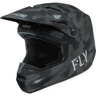 Fly Racing 2022 Kinetic SE Tactic Helmet Matte Grey/Camo