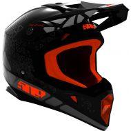509 Tactical MX Helmet Black Fire Hextant