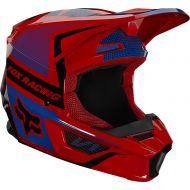 Fox Racing 2021 V1 Oktiv Youth Helmet Flo Red