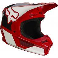 Fox Racing V1 Revn Youth Helmet Flame Red