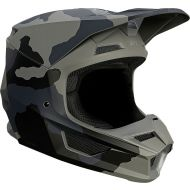 Fox Racing V1 Trev Youth Helmet Black Camo