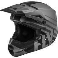 Fly Racing 2020 Kinetic Thrive Youth Helmet Matte Dark Grey/Black
