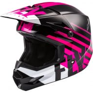 Fly Racing 2020 Kinetic Thrive Youth Helmet Pink/Black/White