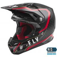 Fly Racing 2021 Formula Carbon Youth Helmet Axon Black/Red/Gold
