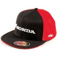 Factory Effex Honda Horizontal Flexfit Hat Black/Red