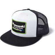 Factory Effex Kawasaki Racing Snapback Hat White