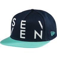 Seven Crossover Snapback Hat Aqua Lite/Navy
